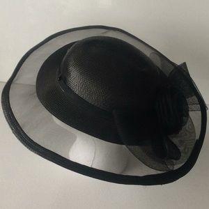 Hat black color